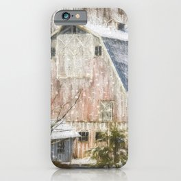 Old Fashioned Values - Country Art iPhone Case