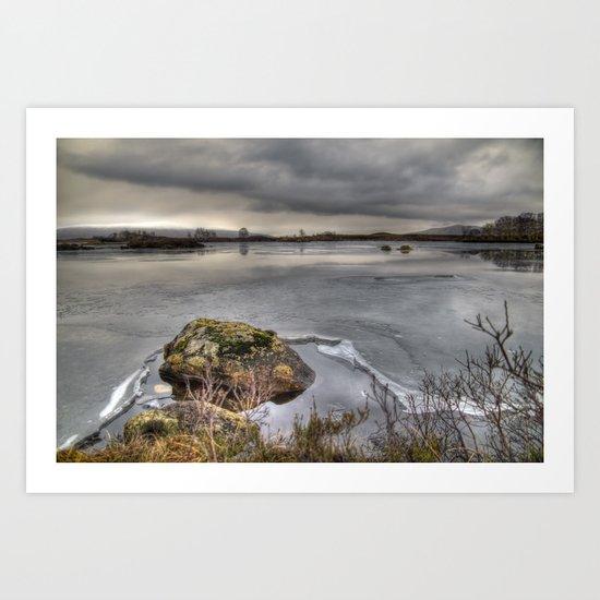 Loch Bà  Art Print