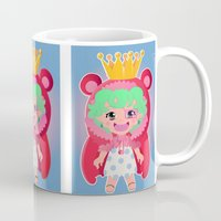 one piece Mugs featuring Sugar from one piece by Dama Chan