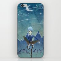 jack frost iPhone & iPod Skins featuring Jack Frost by Serena Rocca