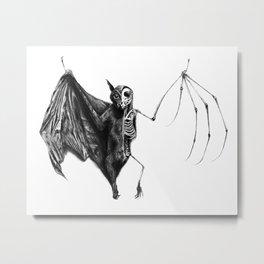Half The Bat I Used To Be Metal Print