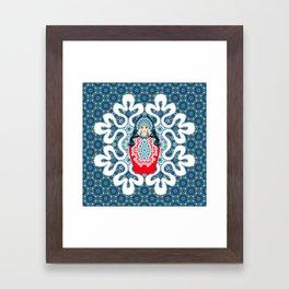 Little Matryoshka Framed Art Print