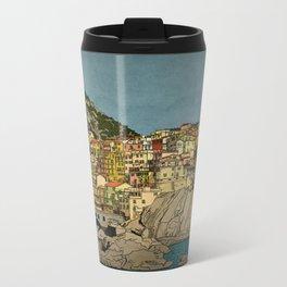 Of Houses and Hills Metal Travel Mug