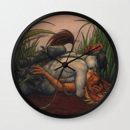 Vanilla Sky Wall Clock