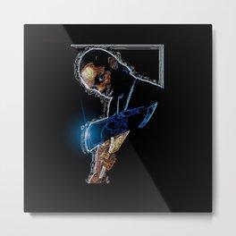 Brotha  Lynch hung Metal Print