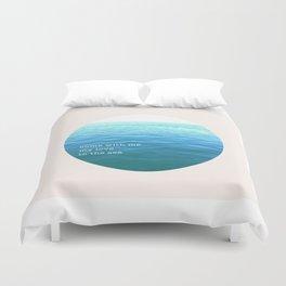 Sea of Love Duvet Cover