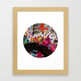 Well Runs Deep Abstract Framed Art Print