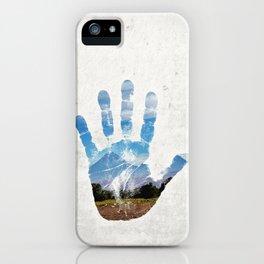 Earth Print iPhone Case