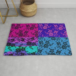 LACE COLLAGE Rug