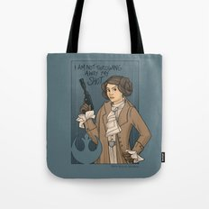 She's Young, Scrappy, and Hungry. Tote Bag