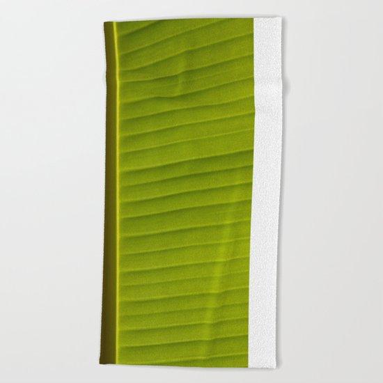 Banana Leaf II Beach Towel