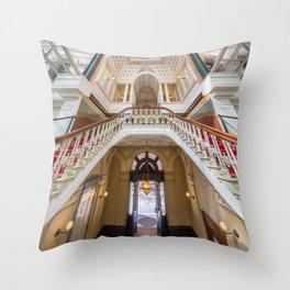 Interior of GPO Building, Martin Place, Sydney Throw Pillow