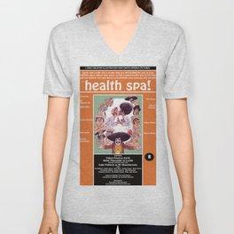 Junxploitation Poster (Health Spa) Unisex V-Neck