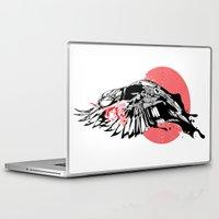 hustle Laptop & iPad Skins featuring hustle by KUI29