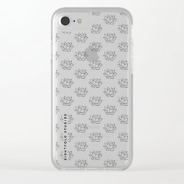 Louts - Eightfold Studios Clear iPhone Case