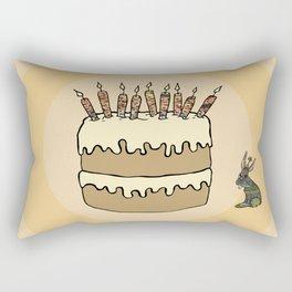 RABBIT CAKE Rectangular Pillow