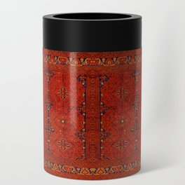 N194 - Red Berber Atlas Oriental Traditional Moroccan Style Can Cooler