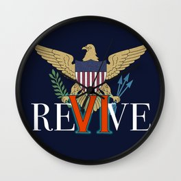 Revive the VI Wall Clock