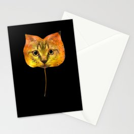 Autumn Cat-7 Stationery Cards