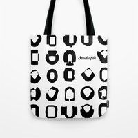 matrix Tote Bags featuring Matrix by Stadiafile
