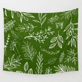 Emerald Forest Wall Tapestry