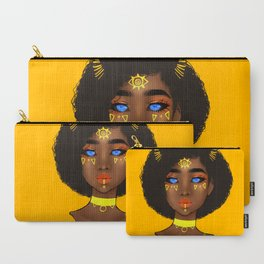 Yellow Demon Carry-All Pouch