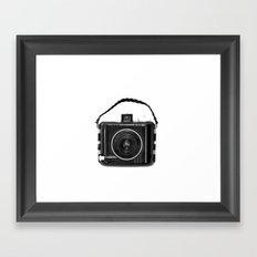Baby Brownie Framed Art Print