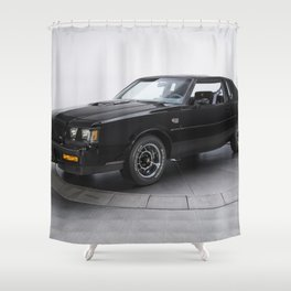 1987 Grand National Muscle Car Shower Curtain
