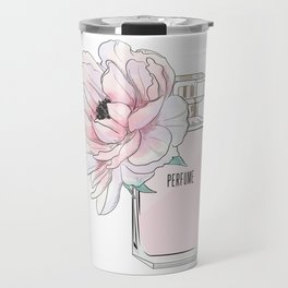 Perfume and peony Travel Mug