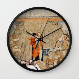Art in The Vatican City, Italy | On vacation in Rome | Travel and food photography Wall Clock