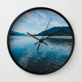 Beautiful Lake Wall Clock