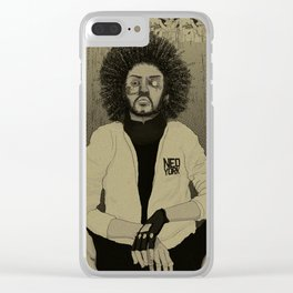 Harkonnen Synthetic Magazine Issue #79 Clear iPhone Case