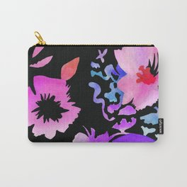 Dark Flora Carry-All Pouch