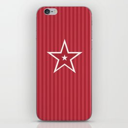 The Greatest Star! Red iPhone Skin