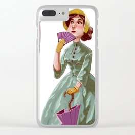 Lincoln Grows Up Clear iPhone Case