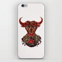 taurus iPhone & iPod Skins featuring Taurus  by Felicia Atanasiu