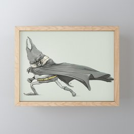 FATMAN Framed Mini Art Print
