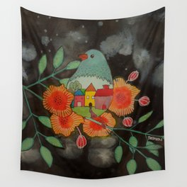 une nuit Wall Tapestry