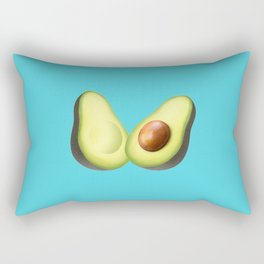 'ave an Avo | Blue Rectangular Pillow