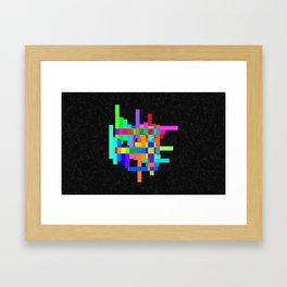 Chroma-Zone Framed Art Print