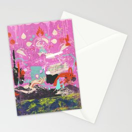 ABSTRACT MOUNTAINOUS Stationery Cards