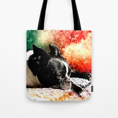 Boston Terrier (Jake) Tote Bag
