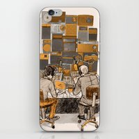 lab iPhone & iPod Skins featuring Radio Lab by Bony Fingers