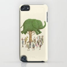 The Night Gardener - Elephant Topiary  Slim Case iPod touch