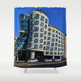 Dancing House | Frank Gehry | architect Shower Curtain