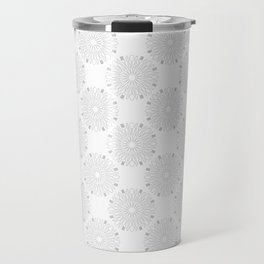 Kitchen Cutlery Outline Circles Travel Mug