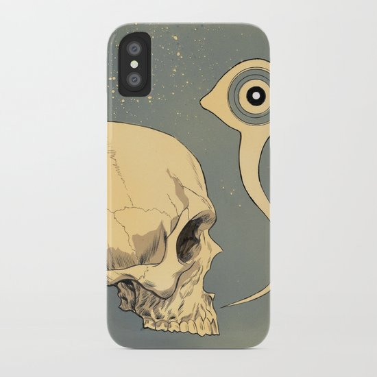 Untitled (skull) iPhone Case
