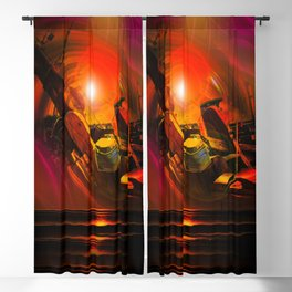 Maritimes Blackout Curtain