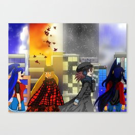 Seasons of Tyme Canvas Print