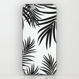 Palm Leaves Pattern Summer Vibes #2 #tropical #decor #art #society6 iPhone Skin